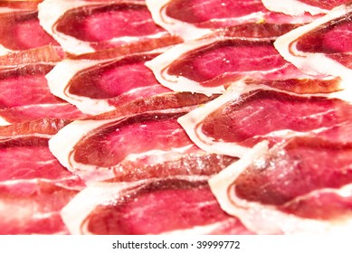 pieces of jamon