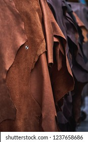 pieces of leather for the production of furniture