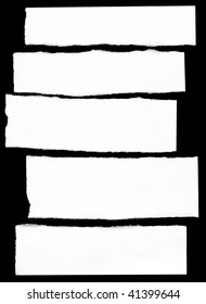 Pieces of paper