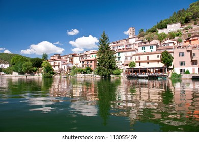 Piediluco lake, Terni, Umbria, Italy