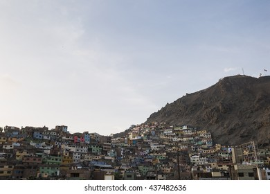 Piedra Liza, a neighborhood at Rimac district. Lima