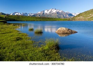 Piedrafita lake