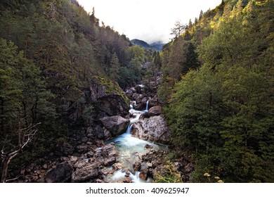 The Pieniny Mountains Range nature reserve.