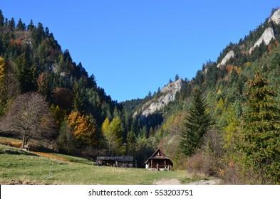 Pieniny. National Park in the north of Slovakia.
