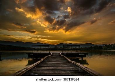 Pier - Shutterstock ID 387139624