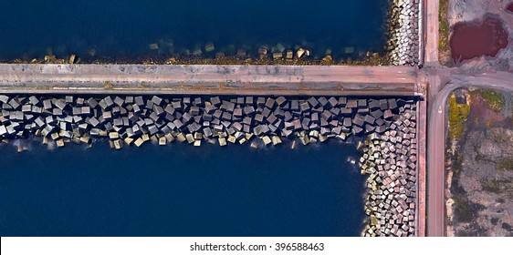 pier, Abstract Naturalism, Spain fields from the air, abstract expressionist photography, abstract landscape, fantasy imaginary forms, abstract surrealism, artistic design for painters,