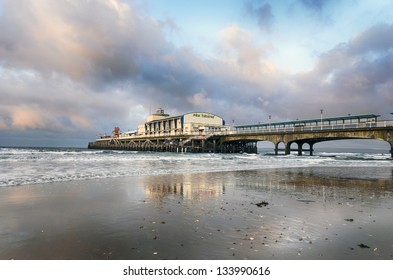 The pier at Bournemouth in Dorset