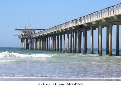 Pier in California