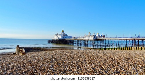 The pier at Eastbourne beach