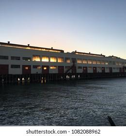 Pier at Fort Mason in San Francisco, CA