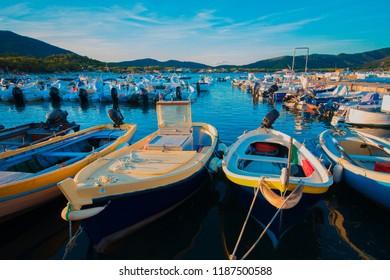 Pier in Isola d'Elba