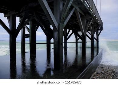 Pier, Le Havre, Normandy, France