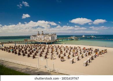 The pier near of Selin