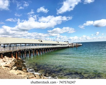 Pier in Oak Bluffs, Martha's Vineyard.