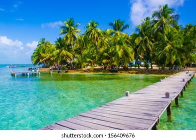 pier on paradise island