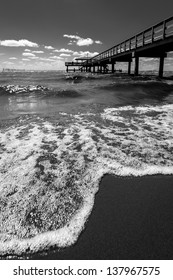 Pier and the Shoreline