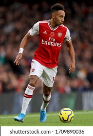 Pierre-Emerick Aubameyang of Arsenal - Arsenal v Wolverhampton Wanderers, Premier League, Emirates Stadium, London, UK - 2nd November 2019