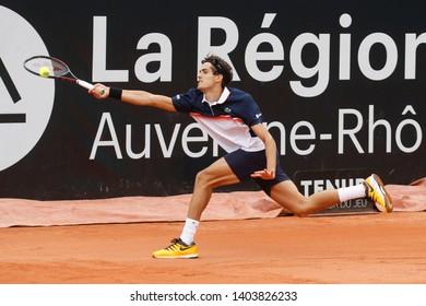 Pierre-Hugues Herbert (FRA) during Open Parc Auvergne-Rhône-Alpes Lyon 2019 ATP 250 Tennis tournament on May 20, 2019 at Parc de la Tête d'Or Lyon France