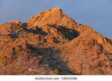 Piestewa Peak in the Phoenix Mountains Preserve - Phoenix, Arizona