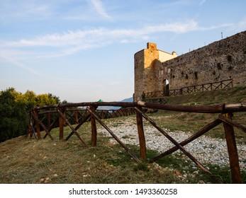 Pietrasanta, view of the Rocca di Sala - city walls