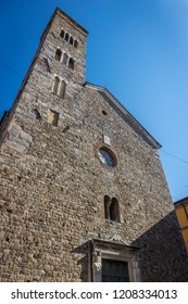 Pieve di Sant'Andrea, medieval catholic church in  romanesque style located in Sarzana (La Spezia, Italy)