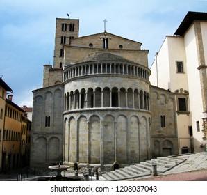 Pieve of Santa Maria in Arezzo Tuscany