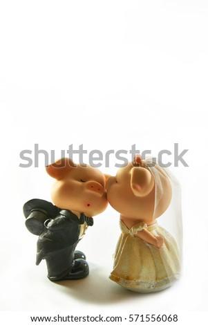 Pig in Wedding Dress