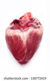Pig hearts.