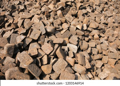 Pig Iron ,an intermediate product of the iron industry, also known as crude iron, which is first obtained from a smelting furnace in the form of oblong blocks. Pig iron has a very high carbon content.