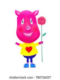 Pig Pink Fashion