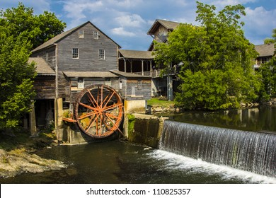 The Pigeon Forge Mill, commonly called the Old Mill, is a historic gristmill in the U.S. city of Pigeon Forge, Tennessee