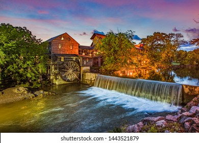 Pigeon Forge Tennessee TN Old Mill.