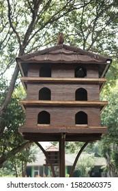 pigeon house, dove cage, mini bird house
