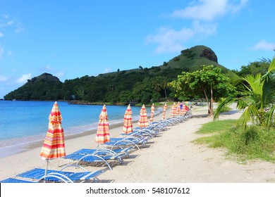 pigeon island beach, st. lucia, caribbean