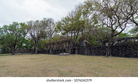 Pigeon Island Fortress in Saint Lucia Main fortification of British, built mainly as defense against France, much needed as Saint Lucia changed hands total of 13 times between them!