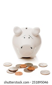 piggy Bank and American cents