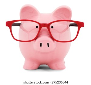 Piggy Bank, Glasses, Intelligence.