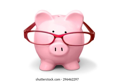 Piggy Bank, Glasses, Pension.
