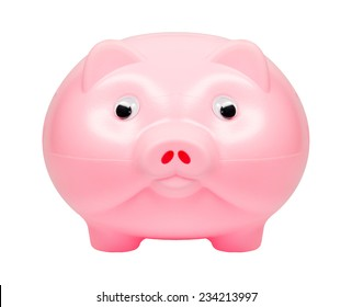 Piggy bank  isolated on a white background.