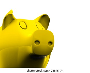 piggy bank its possible to use as  background