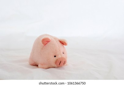 piggy Dolls  on a white background