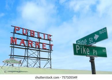 Pike Place Market  Seattle, June 21st 2017
