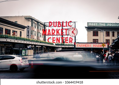 Pike Public Market, Seattle, Washington, USA