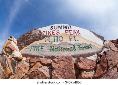 Pikes Peak Mountain Colorado, 2015