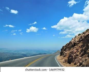 Pikes Peak Road, Colorado Springs