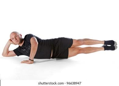 Pilates position - Side Kick Big Scissors