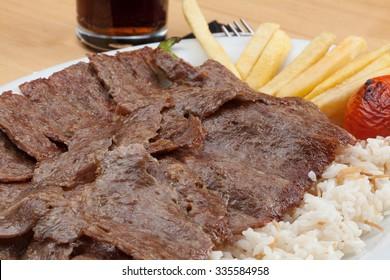 Pilav ustu Doner Turkish food ottoman food Race