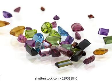Pile of Assorted Gem