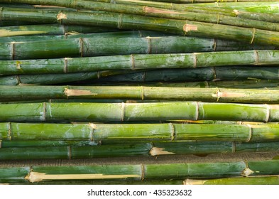 Pile of bamboo background photo