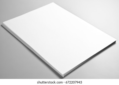 Pile of blank sheets of paper or letterheads